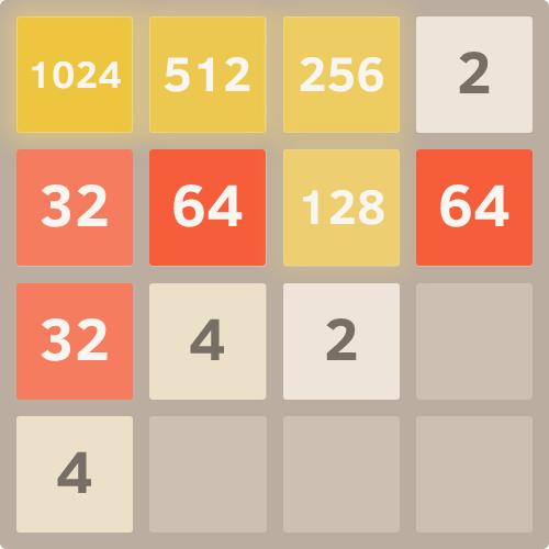 2048 — мат в 6 ходов